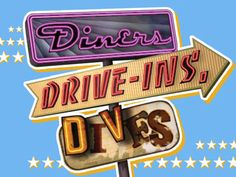 Diners, Drive-ins and Dives with Guy Fieri  #ConceptOne #FlairHair