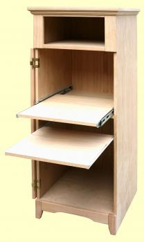 Small office on pinterest computer armoire small home offices and small office spaces - Computer armoires for small spaces property ...