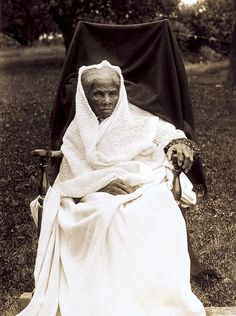 Harriet Tubman, slave, abolitionist, spy and 1st woman to lead an armed expedition during war. Born into slavery, she was beaten, 'hired out' and suffered seizures from being hit by a heavy weight. After escaping, she later made ~19 trips to rescue a total of over 300 slaves, sometimes using the Underground Railroad. Called 'Black Moses', she carried a gun and threatened to shoot any slave who would turn back. She was a Union spy during the Civil War and struggled for women's suffrage. african american, peopl, histori, underground railroad, hero, harriet tubman, harriettubman, women, black