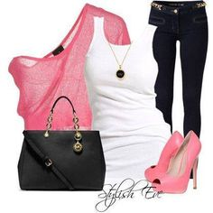 woman fashion, stylish eve, casual summer, heel, summer outfits