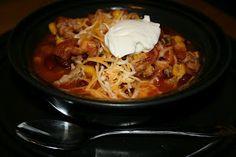 A Year of Slow Cooking: Original Taco Soup CrockPot Recipe #glutenfree