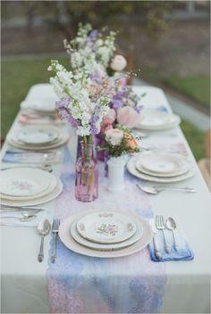 Vintage wedding reception ideas. Event Design: Harmony Creative Studio --- http://www.weddingchicks.com/2014/06/16/these-vintage-dresses-will-captivate-your-romantic-side/