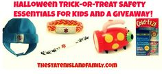 Halloween Trick-or-Treat Safety Essentials for Kids and a #GIVEAWAY! - The Staten Island family
