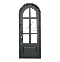 Eleanor - Round - Single Iron Door | Exclusive Iron Doors