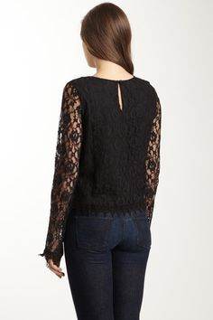 Valeria Lace Top