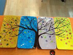 Beautiful tree plates! #themadpotter #pyop tree plate