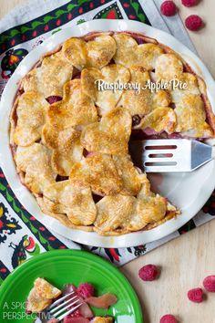 Bold Raspberry Apple Pie