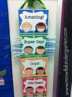 Free behavior chart! classroom idea, at home, school, behavior charts, wagon, kindergarten behavior chart, behavior chart kindergarten, assessment, kid