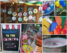Carnival Graduation ideas