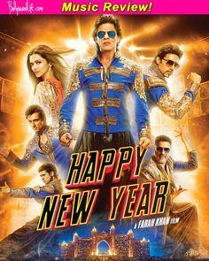 Happy New Year music review: Shah Rukh Khan-Deepika Padukone starrer is full of peppy numbers!   #HappyNewYearmusicreview  #ShahRukhKhan