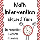 Elapsed Time Introduction Lesson Freebie