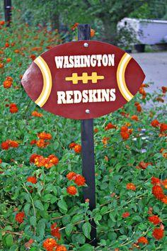 Washington Redskins Yard Stake #redskins #HTTR