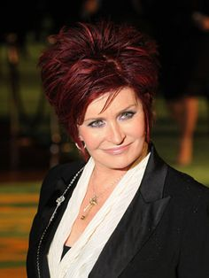 She's a redhead, has the patience of a saint to be married to Ozzy and is a survivor of cancer. Rock on Sharon Osbourne!