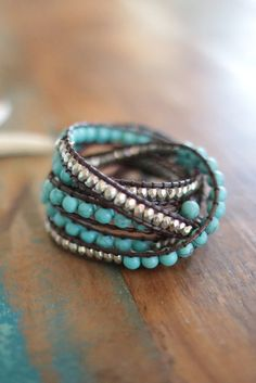 Team Favorite!  Beach Babe Wrap Bracelet