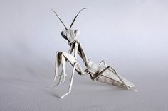 #origami mantis repinned by Heather Medes