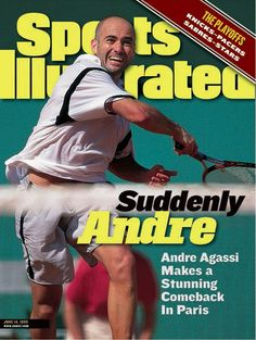 """Sports Illustrated"" Andre Agassi - 1999"