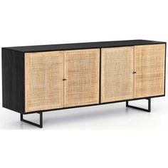 Carmel Sideboard, Black – High Fashion Home