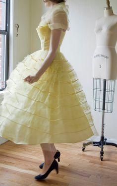 1950's prom dress.
