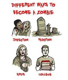 Zombie Humor