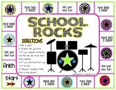 School Rocks Game
