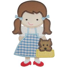 Dorothy Applique