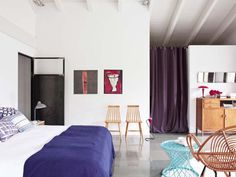 modern, interiors