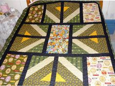 Boy Scout Quilt - Quilters Club of America quilter club, quilt idea, boyscout, scout quilt