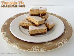 pumpkin pie marshmallows