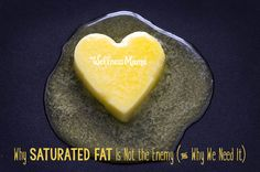Saturated fat consis