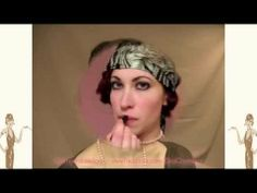7 Steps to Perfect 1920s Flapper Lips