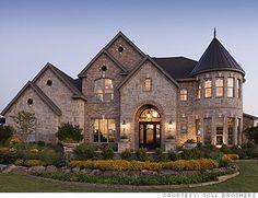 castle house, big beautiful houses, big houses exterior pools, castle home, mansion