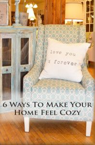 6 ways to make your home feel cozy