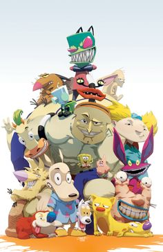 Remember Nickleodeon? jeffrey chamba, fan art, 90s kid, old school, cartoon network, childhood memori, nostalgia, cartoon art, nickelodeon cartoon
