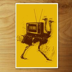 What! What! Print 11x17 now featured on Fab.