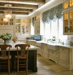 The Enchanted Home's lovely kitchen