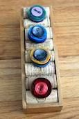 wines, craft, wine corks, ring holder, display idea, cigar boxes, cork ring, diy rings, wine cork box