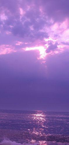Purple sky- Just beautiful