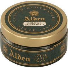 alden fine, fine shoe, theshoemart cordovan, wax, men alden, alden men
