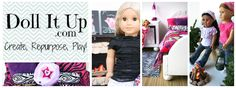 Doll it up - website for making doll accessories and fun - may need in the future ag doll accessories, duct tape crafts, american girl, dolls accessories