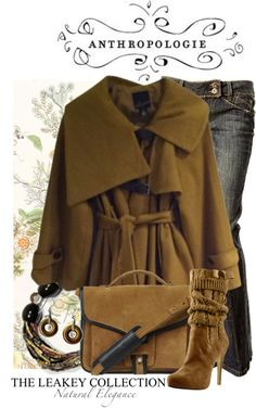 """""""Anthropologie and The Leakey Collection"""" by jackie22 on Polyvore"""