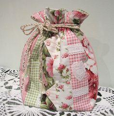 what a pretty bag idea