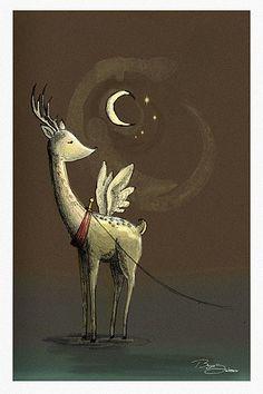 """""""Dancer The Reindeer"""" by Bayu Sadewo"""