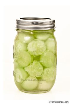 Cucumber Melon Infused Vodka