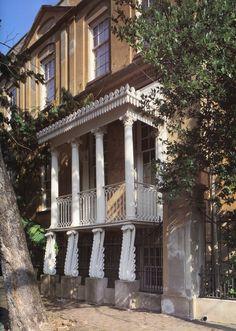 Richard Richardson House, Oglethorpe Square, Savannah.