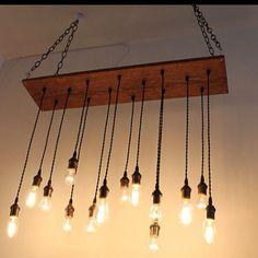 Edison bulb industrial lighting