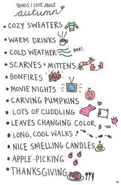 palabras otoño en inglés