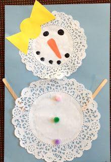 girl snowman .... so cute
