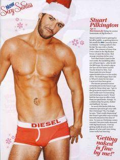 #christmas #hunk #sexyman #seasonsgreetings #sexysanta