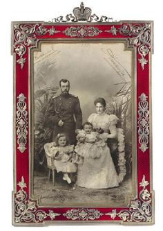 Fabergé Imperial Presentation Frame 1897