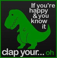 poor T rex :(